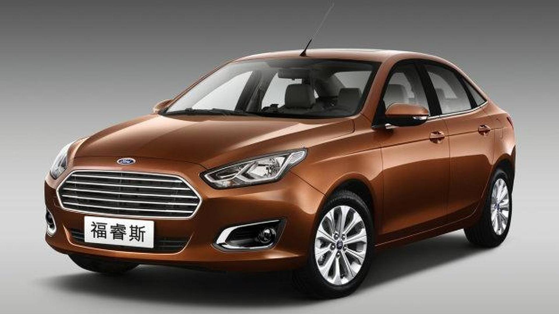 Ford Escort production version officially revealed for China