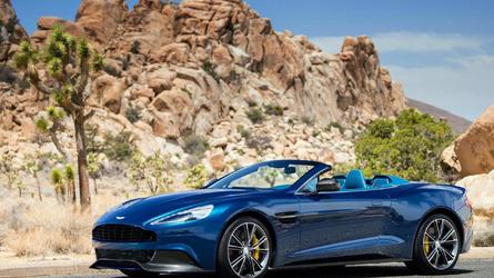 Aston Martin Vanquish Volante to debut at Pebble Beach