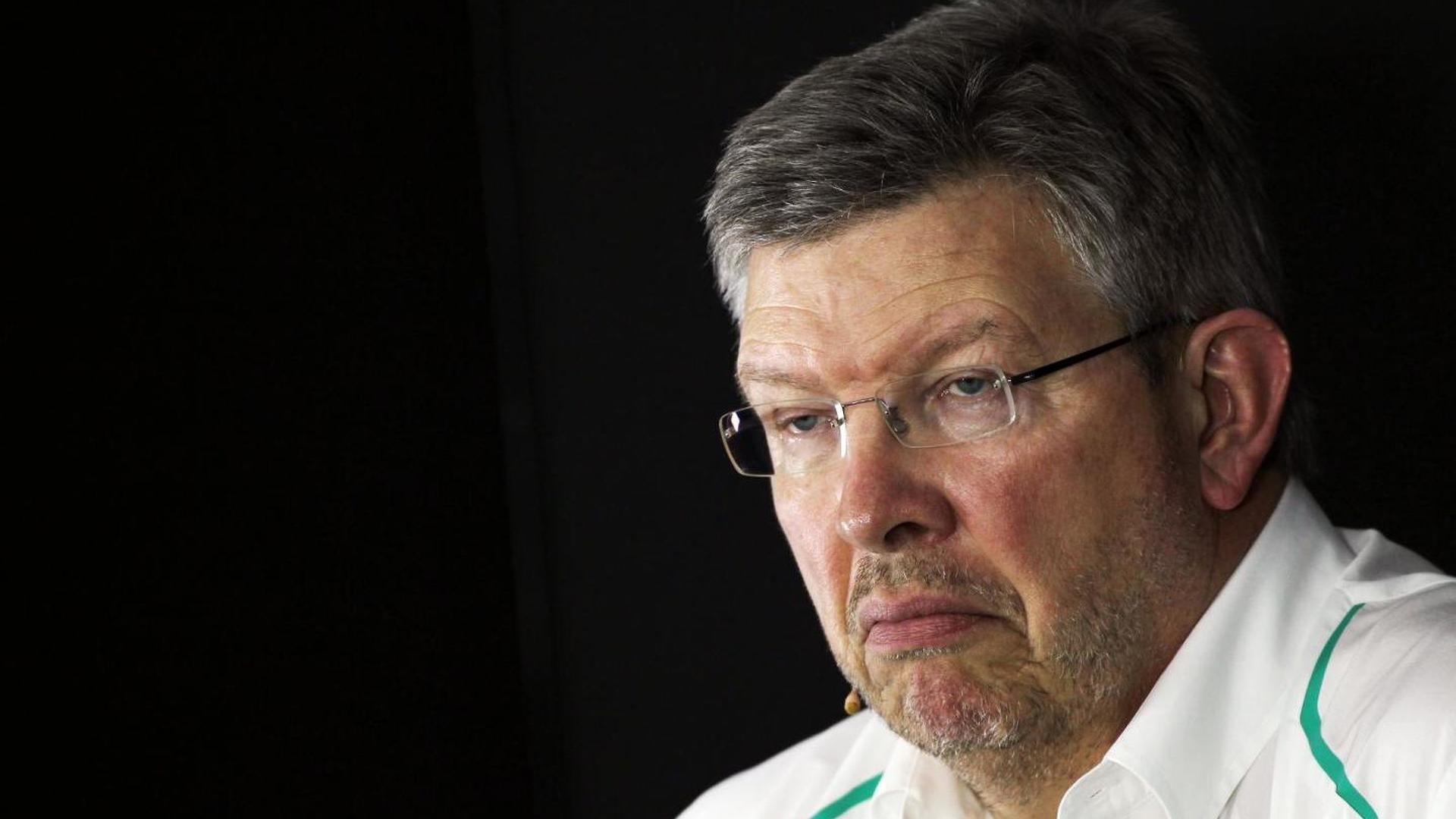 Mercedes quiet amid latest Brawn exit reports