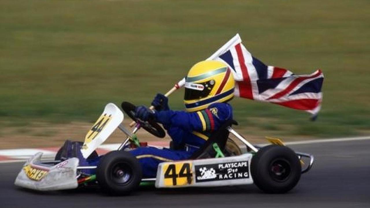 Lewis Hamilton Cadet Class 1995 Super One British Kart Championship