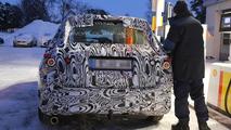 Bigger 2015 Mercedes-Benz GLK spied during winter testing