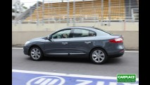 Testamos Novo Renault Fluence no limite no Autódromo de Interlagos