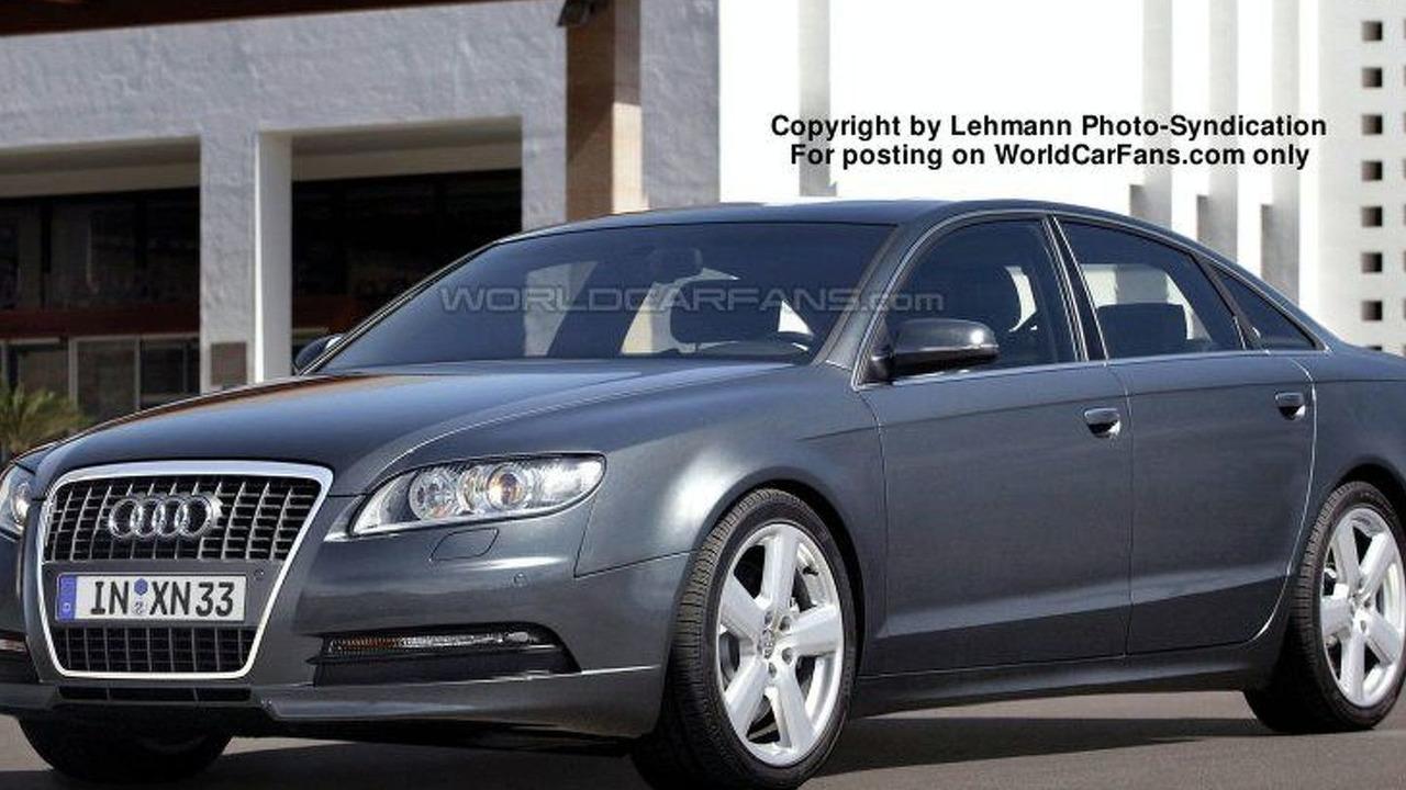 Audi A8 spy