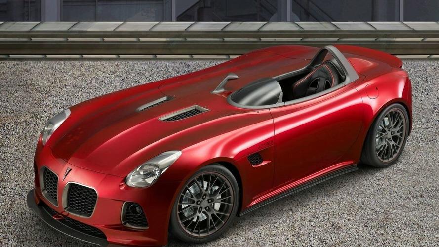 Pontiac Solstice SD-290 Race Concept for SEMA