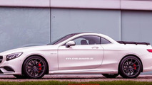 Mercedes-Benz S 63 AMG pick-up rendering / X Tomi