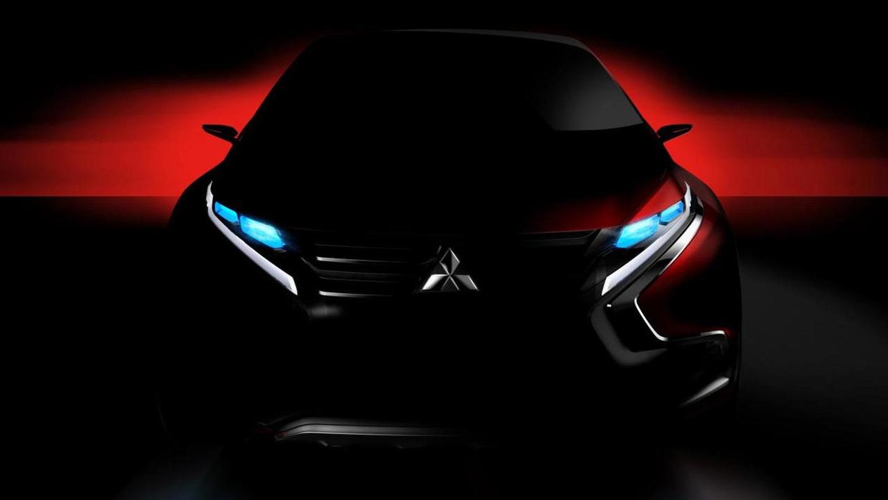 Mitsubishi Geneva Motor Show concept car teaser