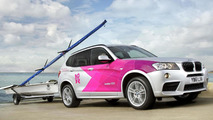 BMW X3 for 2012 Olympic and Paralympic Games 26.4.2012