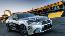 Lexus GS 350 F Sport safety car 30.8.2012