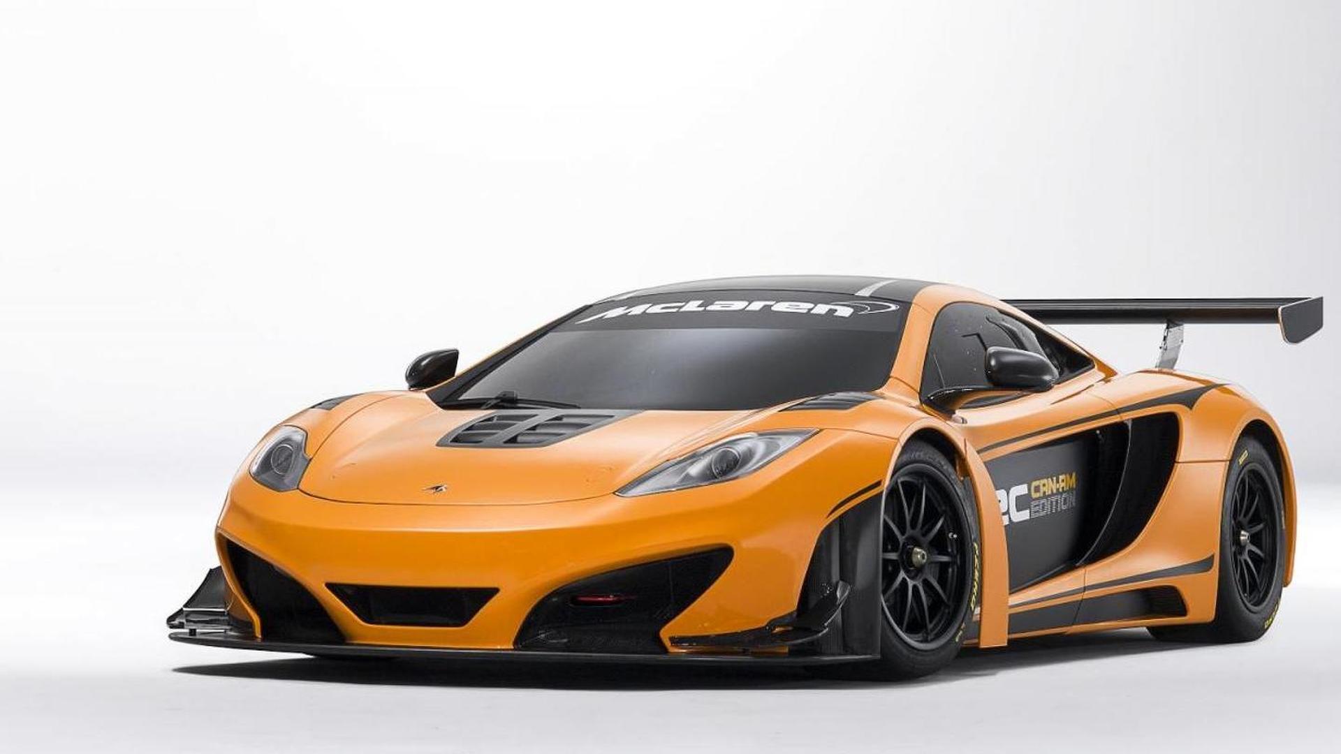 McLaren 12C Can-Am Edition racing concept breaks cover