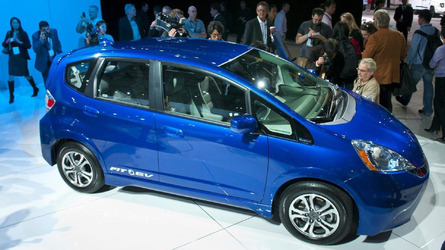2013 Honda Fit EV officially rated at 118 MPGe