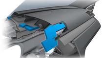 2012 Volkswagen CC facelift - Improved soundproofing dashboard