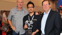 Jon Sibal wins the Scion Tuner Challenge