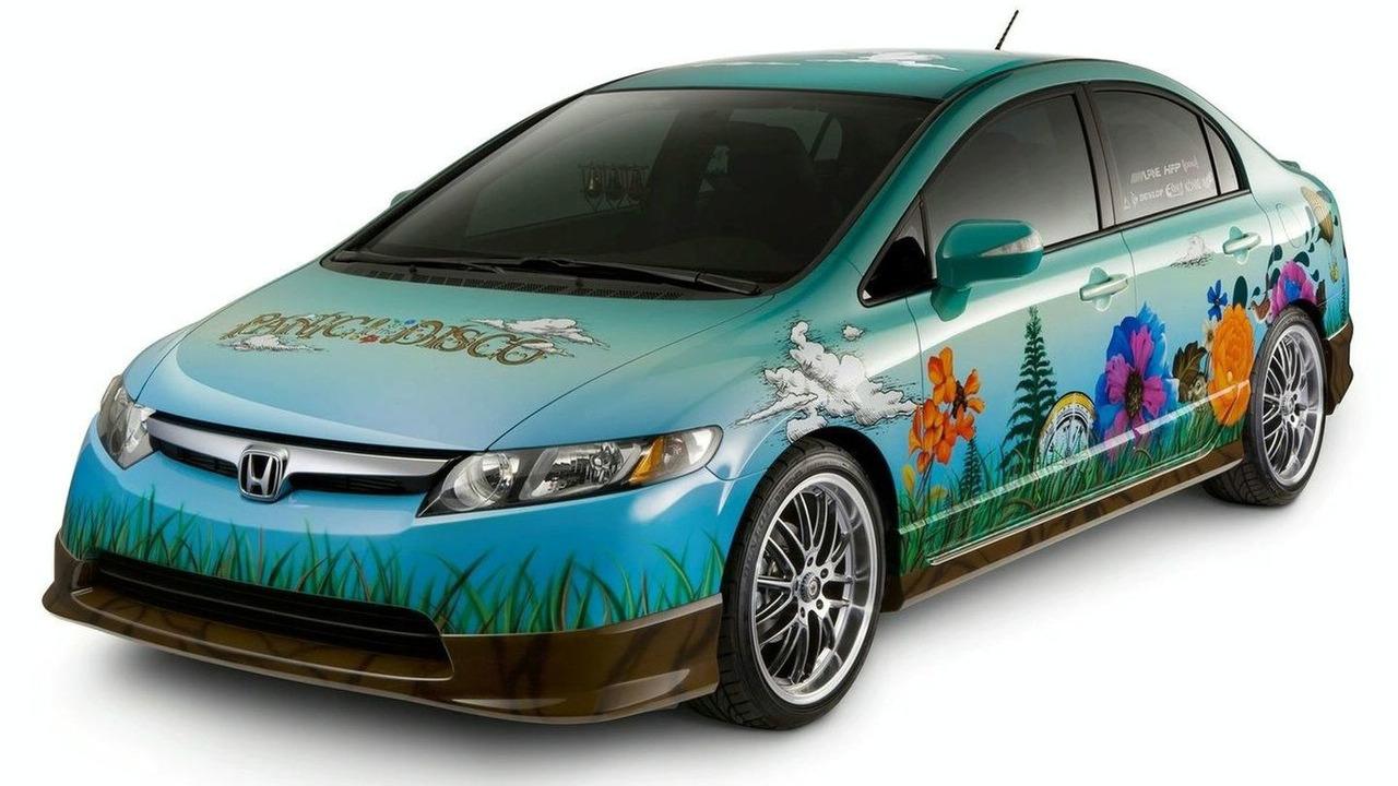 Panic at the Disco Honda Civic Hybrid