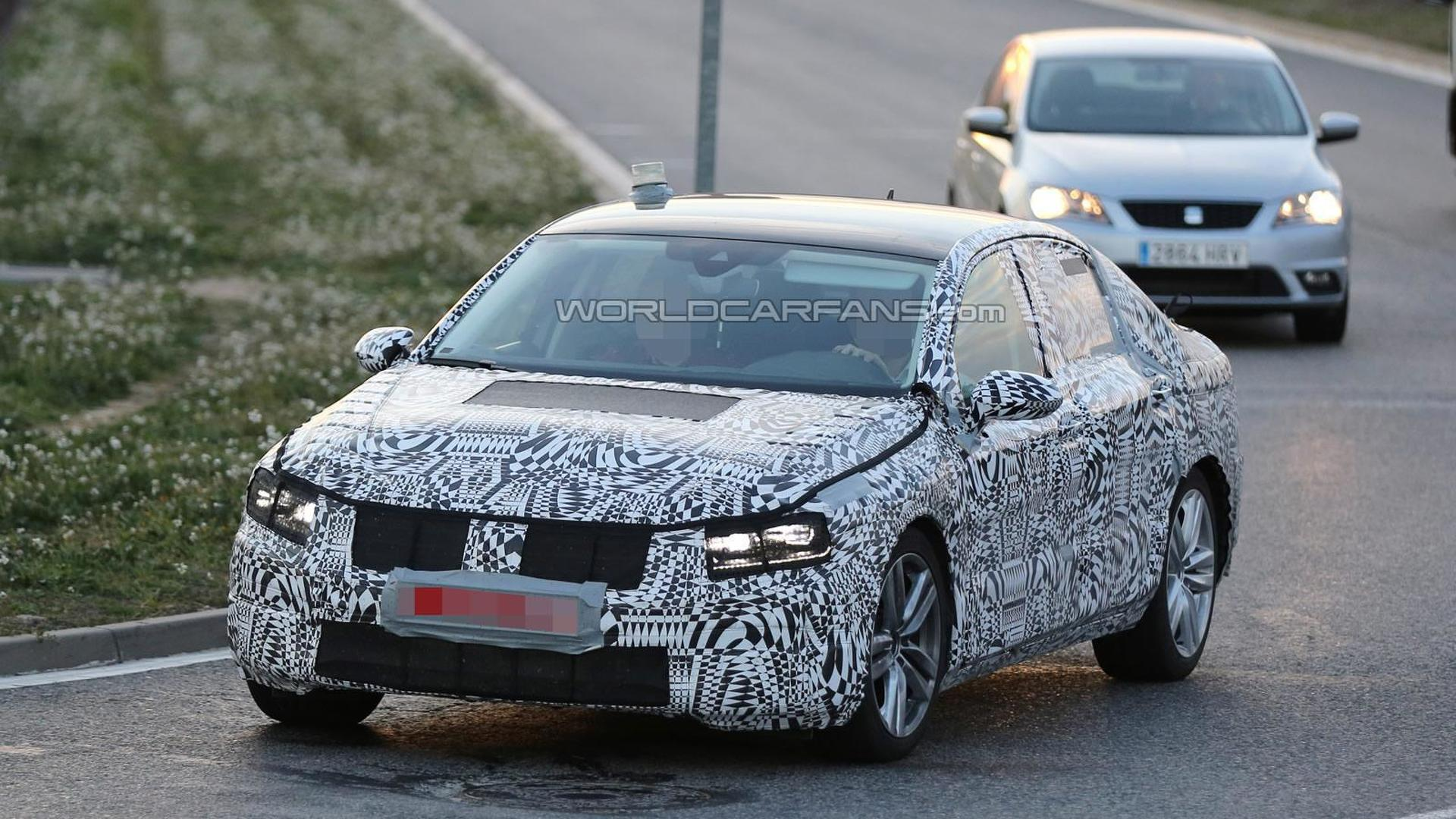 2015 Volkswagen Passat spied testing in southern Europe showing new details