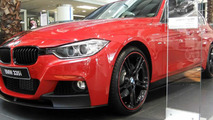 Tricked out BMW 335i on sale at Abu Dhabi dealership