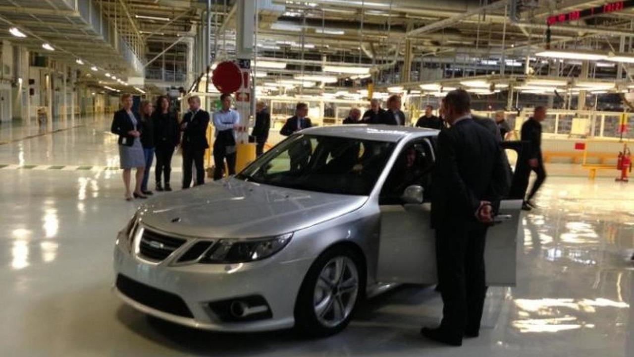 Saab 9-3 pre-production prototype 18.9.2013
