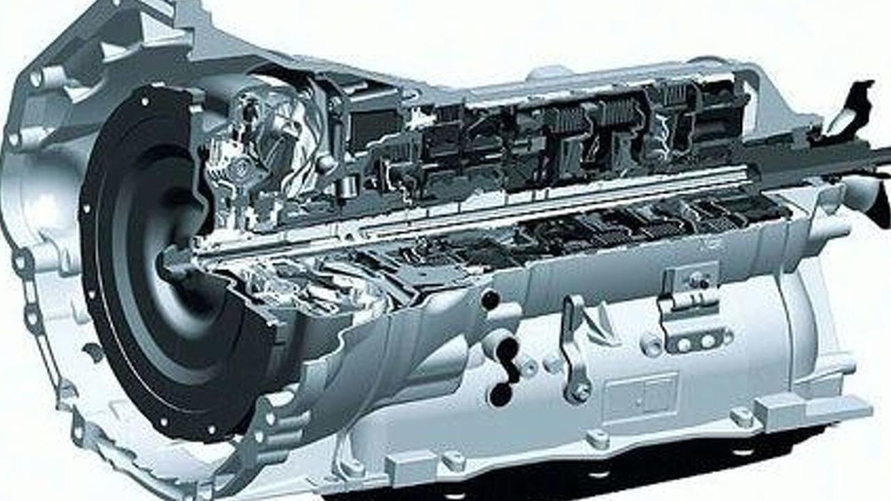 ZF 8-speed transmission