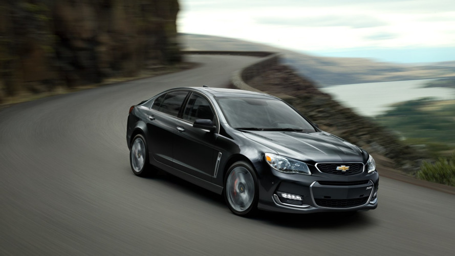 Chevy SS and Caprice PP in seatbelt recall