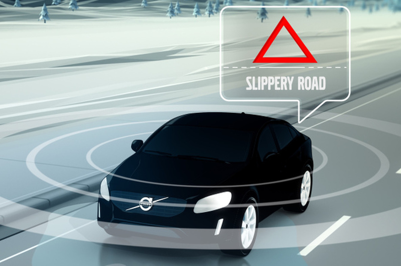 Volvo Connecting Cars via Cloud to Warn of Road Hazards
