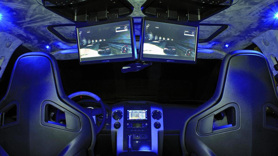 Ford F150 audio show car by MAGNAT - 20,000 Watts