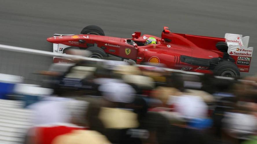 Hamilton and Massa scrape walls in final practice