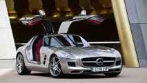 2010 Mercedes-Benz SLS AMG Official Details - First photos and press release