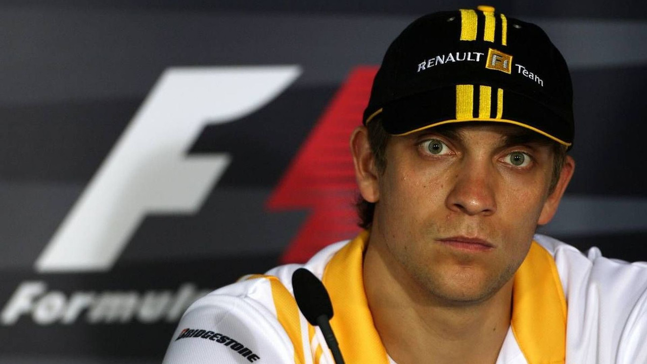 Vitaly Petrov (RUS), Renault F1 Team, Australian Grand Prix, Thursday Press Conference, 25.03.2010 Melbourne, Australia