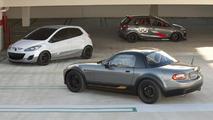 Mazda lineup for SEMA 2010