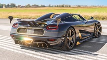 Gilded Koenigsegg Agera RS is first Euro delivery