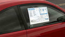 Honda and Acura Window Stickers