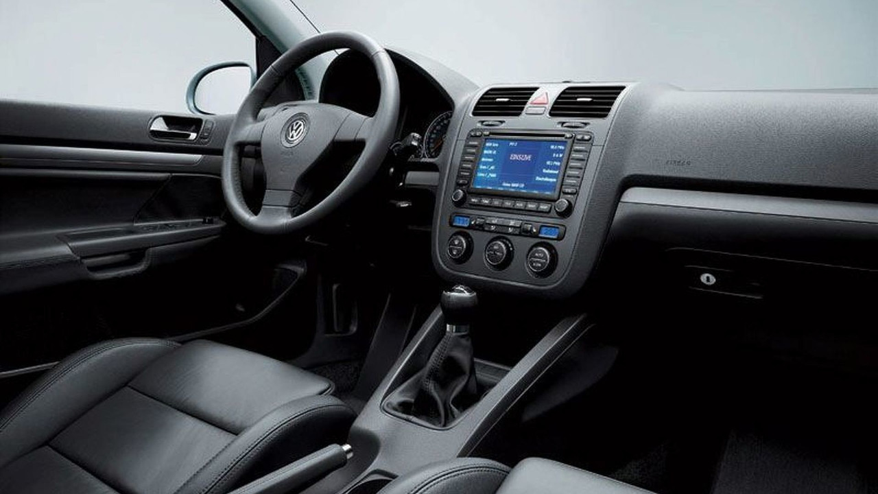 VW Golf interior