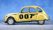 Citroen 2CV Voted Most Popular Bond Car