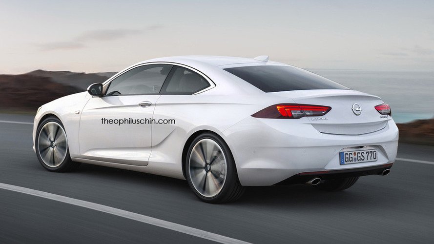 Twodoor Opel Insignia Coupe imagined anyone interested