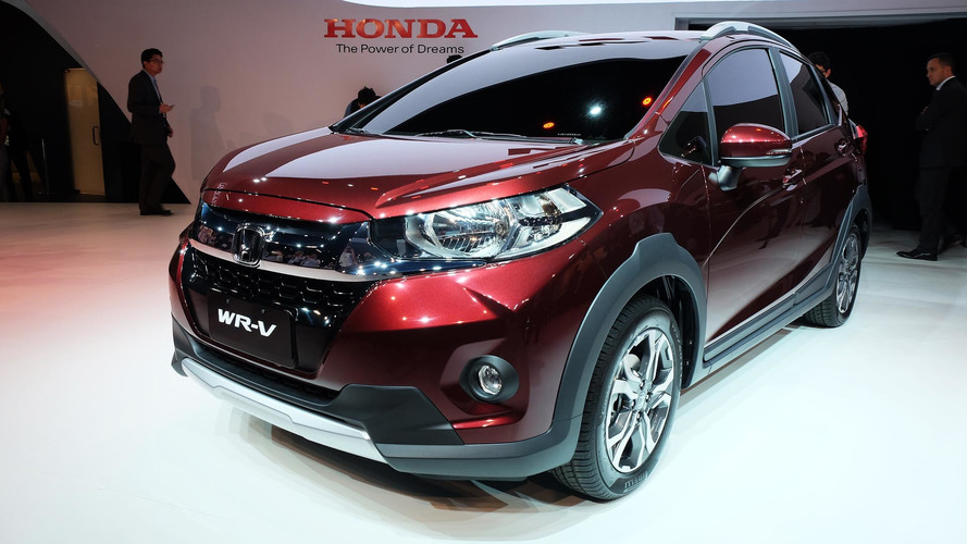 Honda WR-V is a South America-only affair