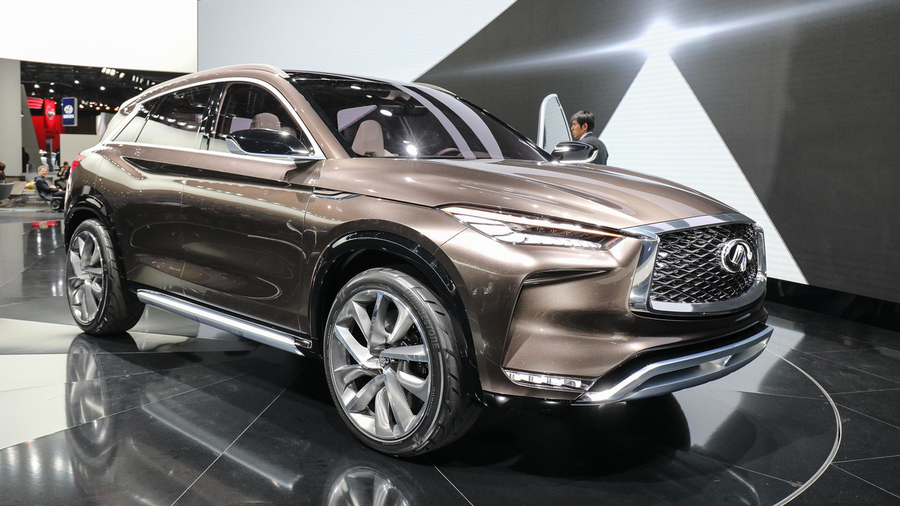 2018 infiniti qx50 spied with undisguised exterior. Black Bedroom Furniture Sets. Home Design Ideas