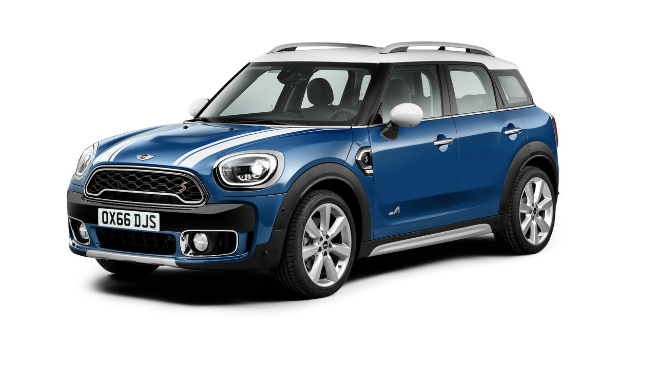 2017 Mini Countryman vs. 2015 Mini Countryman