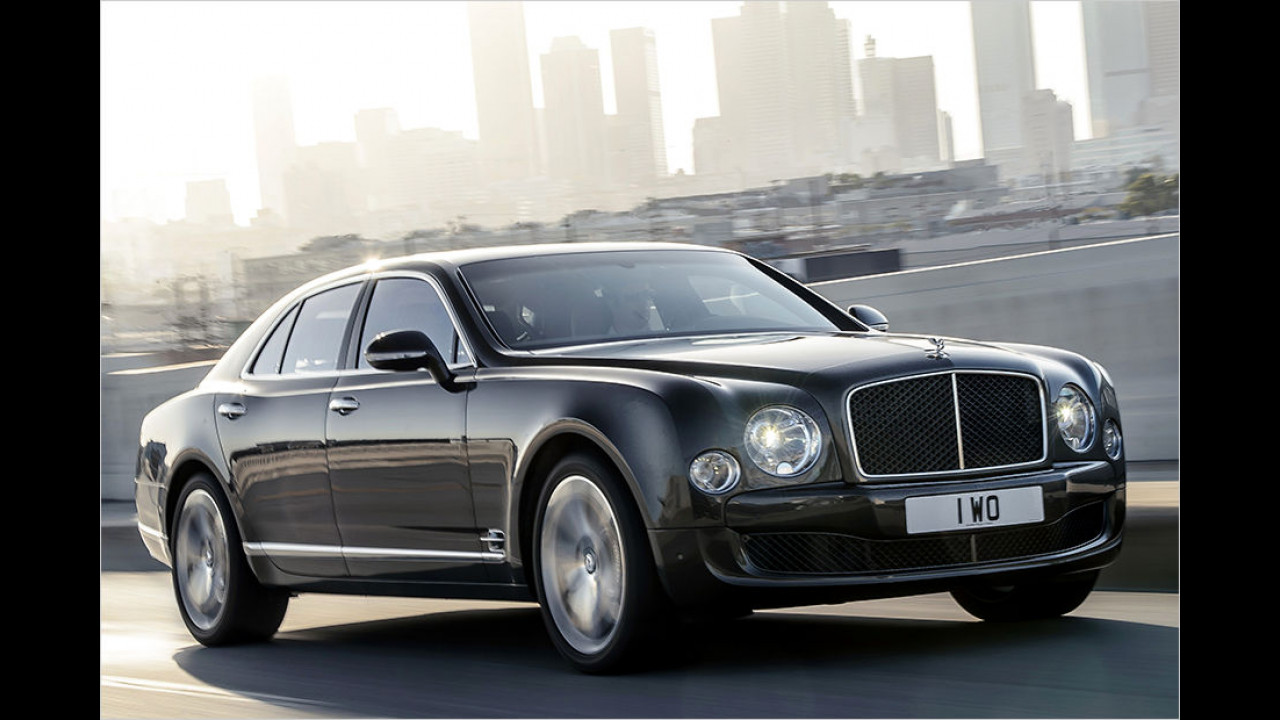 Platz 2: Bentley Mulsanne