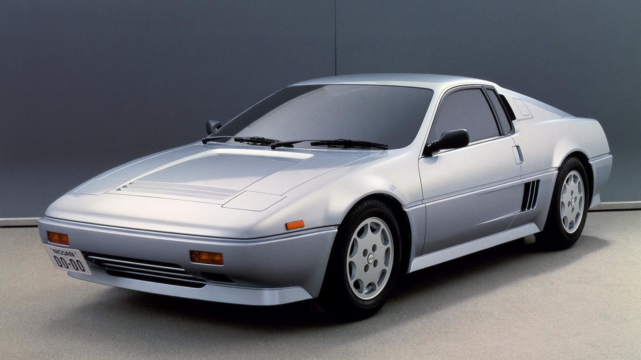1985 Nissan MID4 concept