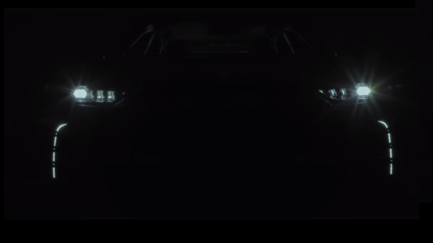 DS7 Crossback teaser confirms name, reveals fancy LED lights