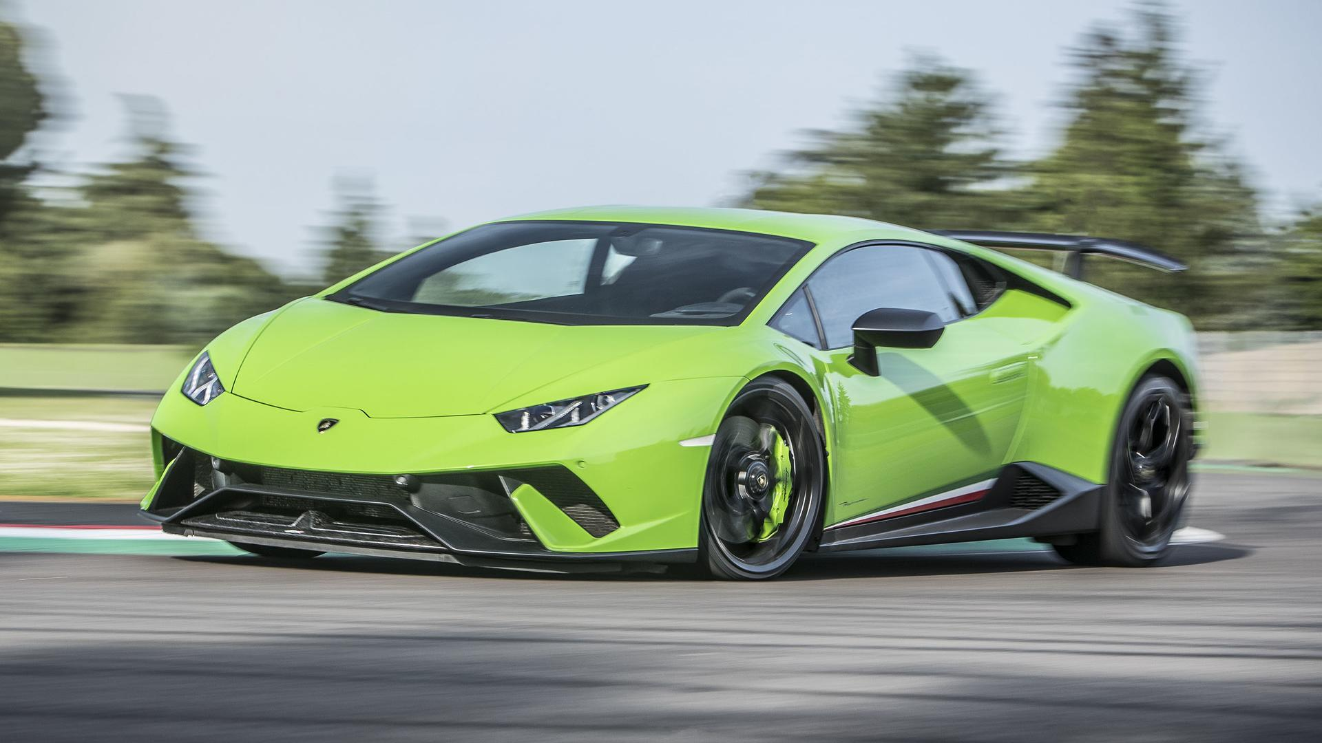 2017 Lamborghini Hurac 225 N Performante First Drive Record