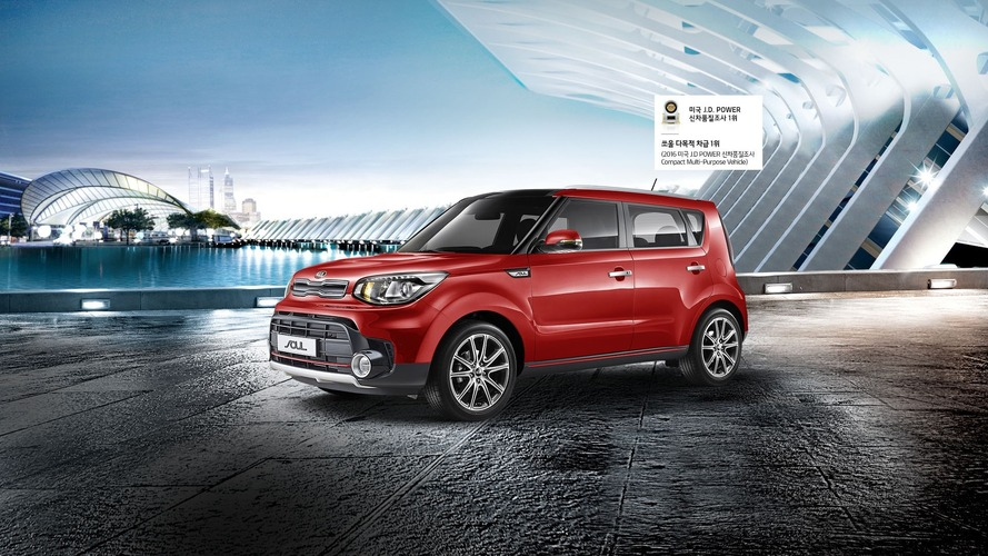 Kia Soul facelifted in South Korea