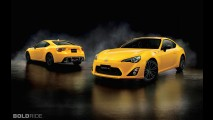 Toyota GT 86 Yellow Limited