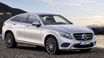 2016 Mercedes GLC Coupe rendering