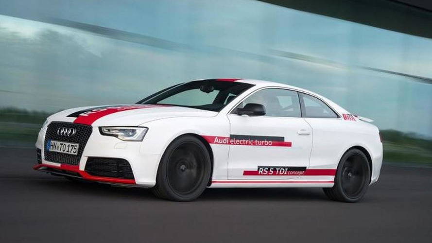 Audi RS5 TDI concept announced for AMI Leipzig