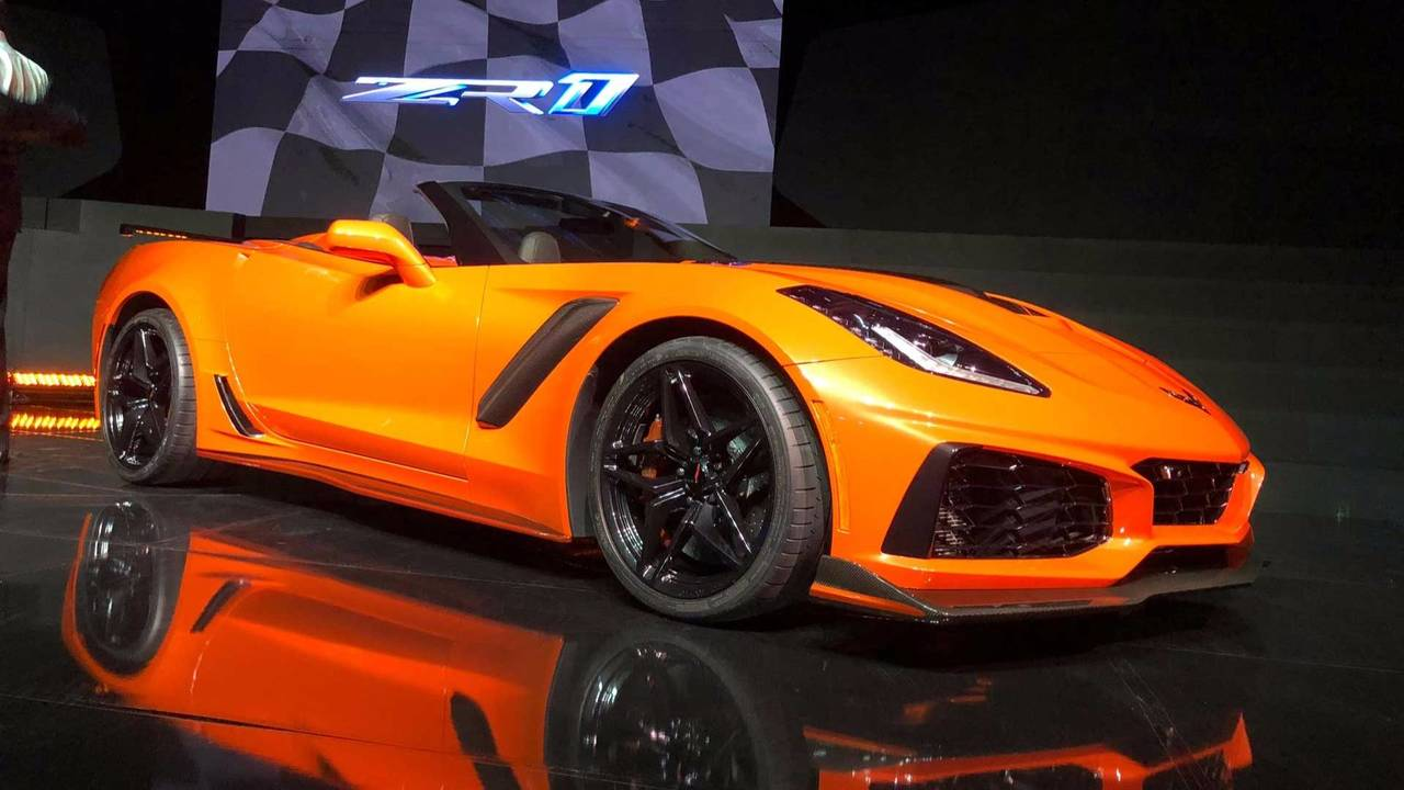 Chevy Corvette 2018 >> Hit: 2018 Chevy Corvette ZR1 Convertible photo
