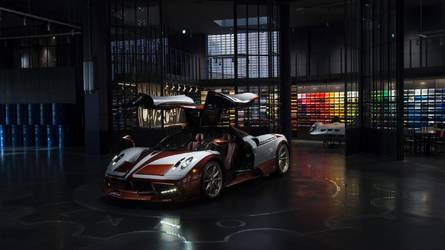 Lovely One-Off Pagani Huayra Takes Inspiration From A 1954 Fiat