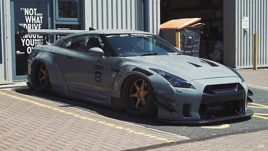 Nissan GT-R By Liberty Walk Is Straight Out Of A Video Game