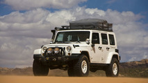 Jeep Wrangler Overland, which the Mopar team turned into a mobile