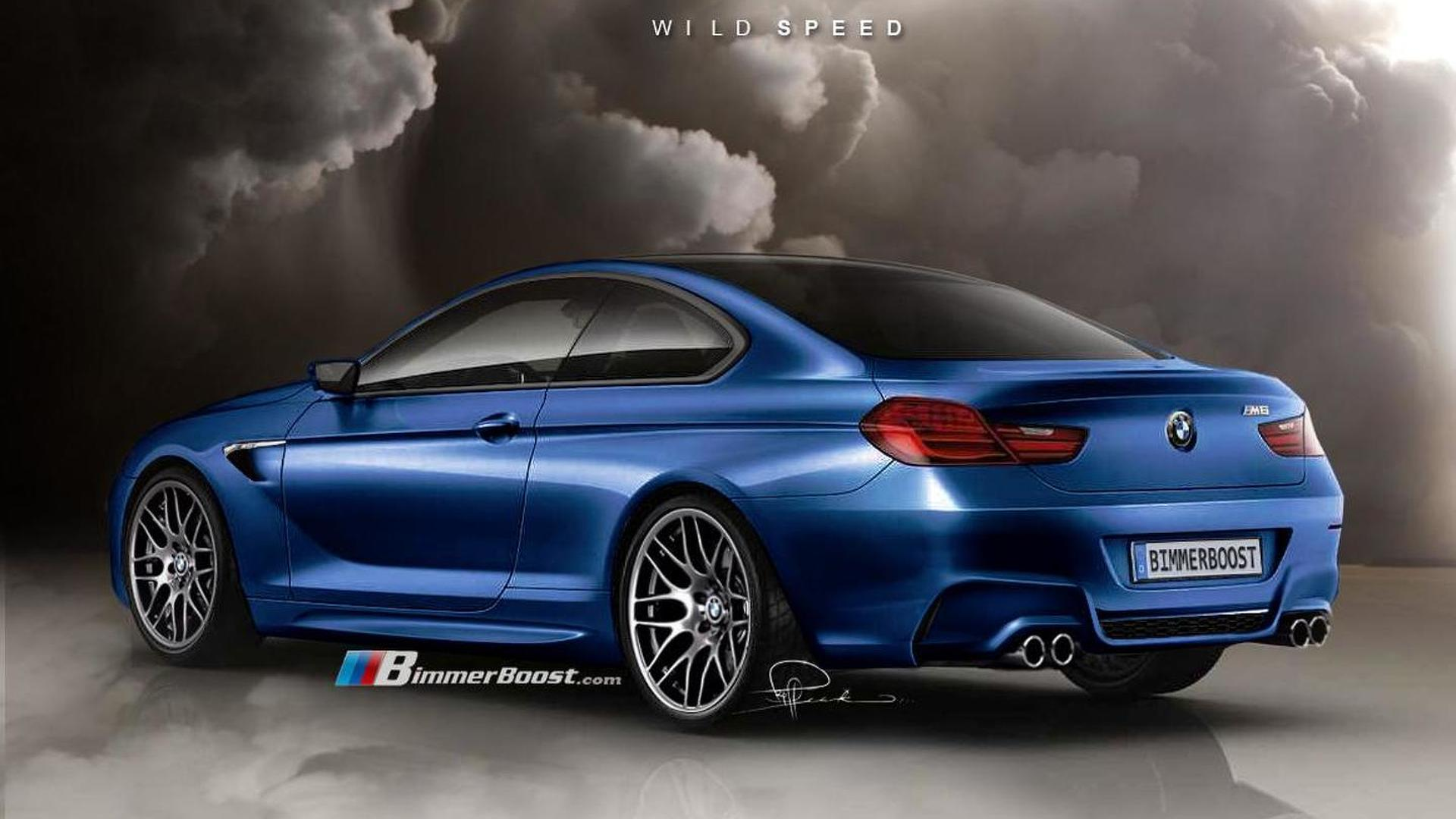 bmw m6 f12 renderings based on 6 series coupe concept surface. Black Bedroom Furniture Sets. Home Design Ideas