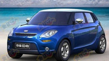 Is this a MINI, a Citroen DS3, or the Geely Emgrand EC6 RV?
